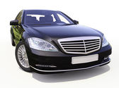 Modern luxury executive car — Photo
