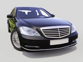 Modern luxury executive car — Stock Photo