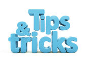 3d tips and tricks — Stock Photo