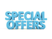 3d Special offers — Stock Photo