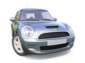 Modern compact car — Stock Photo