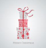 χριστουγεννιάτικα δώρα — Διανυσματικό Αρχείο