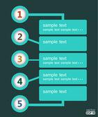Design template — Stock Vector