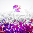 Music background — Stock Vector #26943689