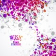 Music background — Stock Vector #26943691