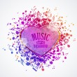 Music background — Stock Vector #26943763