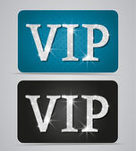 Vip cards — Stock Vector