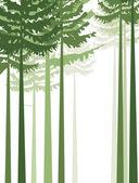 árboles 2 — Vector de stock