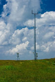 Meteorological stations. — Stock Photo