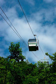 The cable car in the Moravian Karst. — Stock Photo