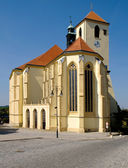 Church of Sts. Jacob in Boskovice. — Stock Photo