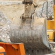 Arm of excavator bucket — Stockfoto