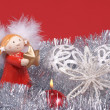 Christmas decoration, Angel — Stock Photo
