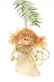 Angel, Christmas tree decoration — Stock Photo