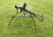 Machine Gun. — Stock Photo