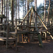 Wooden Playground. — Stock Photo #12681066