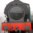 Steam Train Engine. — Stock Photo