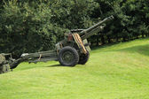 Military Field Gun. — Stock Photo
