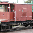 Railway Guards Van. — Stock Photo