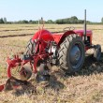 Vintage Tractor. — Stock Photo #14082506