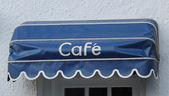 Café Entrance Doorway. — Stock Photo