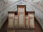 Church Music Organ. — Stock Photo