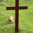 Foto Stock: Wooden Cross.