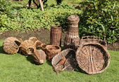 Wicker Baskets. — Stock Photo