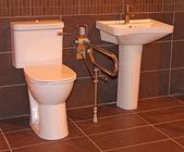Display Bathroom. — Stock Photo