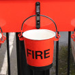 Fire Buckets. — Stock Photo