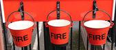 Fire Buckets. — ストック写真