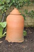 Terracotta Pot. — Stock Photo