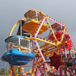 Fun Fair Wheel Ride. - Stock Photo