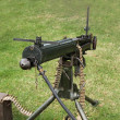 Stock Photo: Army Machine Gun.