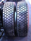 重型轮胎. — 图库照片