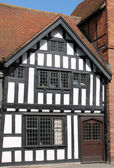 Timber Framed Building. — Stock Photo