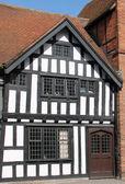 Edificio de madera enmarcada. — Foto de Stock