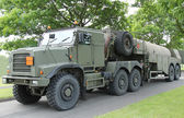 Army Fuel Tanker. — Stock Photo