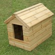 Stock Photo: Dog Kennel.