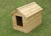 Dog Kennel. — Stockfoto