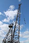 Dockside Cargo Crane. — Stock Photo