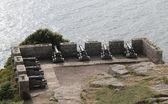 Emplazamiento de cañón. — Foto de Stock