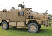 Military Armoured Heavy Vehicle. — Stock Photo