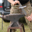 Blacksmith Anvil. — Stock Photo #34981239