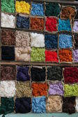 Coloured Wool. — Stock Photo