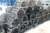 Lobster Pots. — Stock Photo