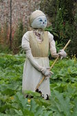Cinderella Themed Scarecrow. — Foto Stock
