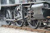 Moteur de train vapeur. — Photo