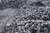 Stock of Coal. — Stock Photo