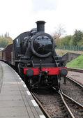 Steam Locomotive. — Stok fotoğraf